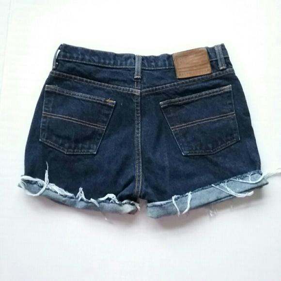 Ralph Lauren Pants - Vintage Ralph Lauren Polo Cut Off Jean Shorts